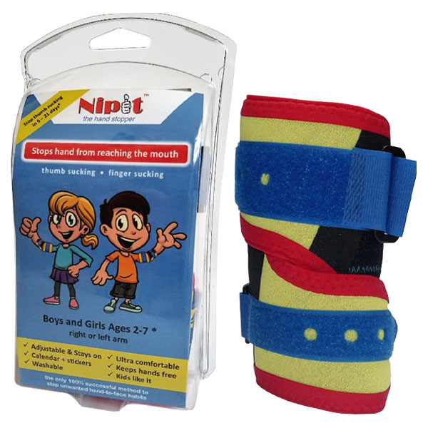 Nipit Hand Stopper - Stops Thumb Sucking